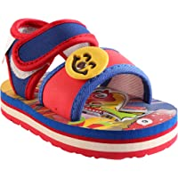 Hopscotch CHIU Chu-Chu Sound Red Sandal for Baby Boys & Baby Girls (9-12 Months)