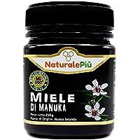 Miel de Manuka 800+ MGO 250 gr. Produit en Nouvelle-Zélande. Actif et brut, 100 % pur et naturel. Méthylglyoxal testé par des laboratoires accrédités.