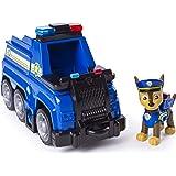 PAW Patrol 6053369 - Ultimate Rescue Basis Fahrzeug mit Figur - Chase