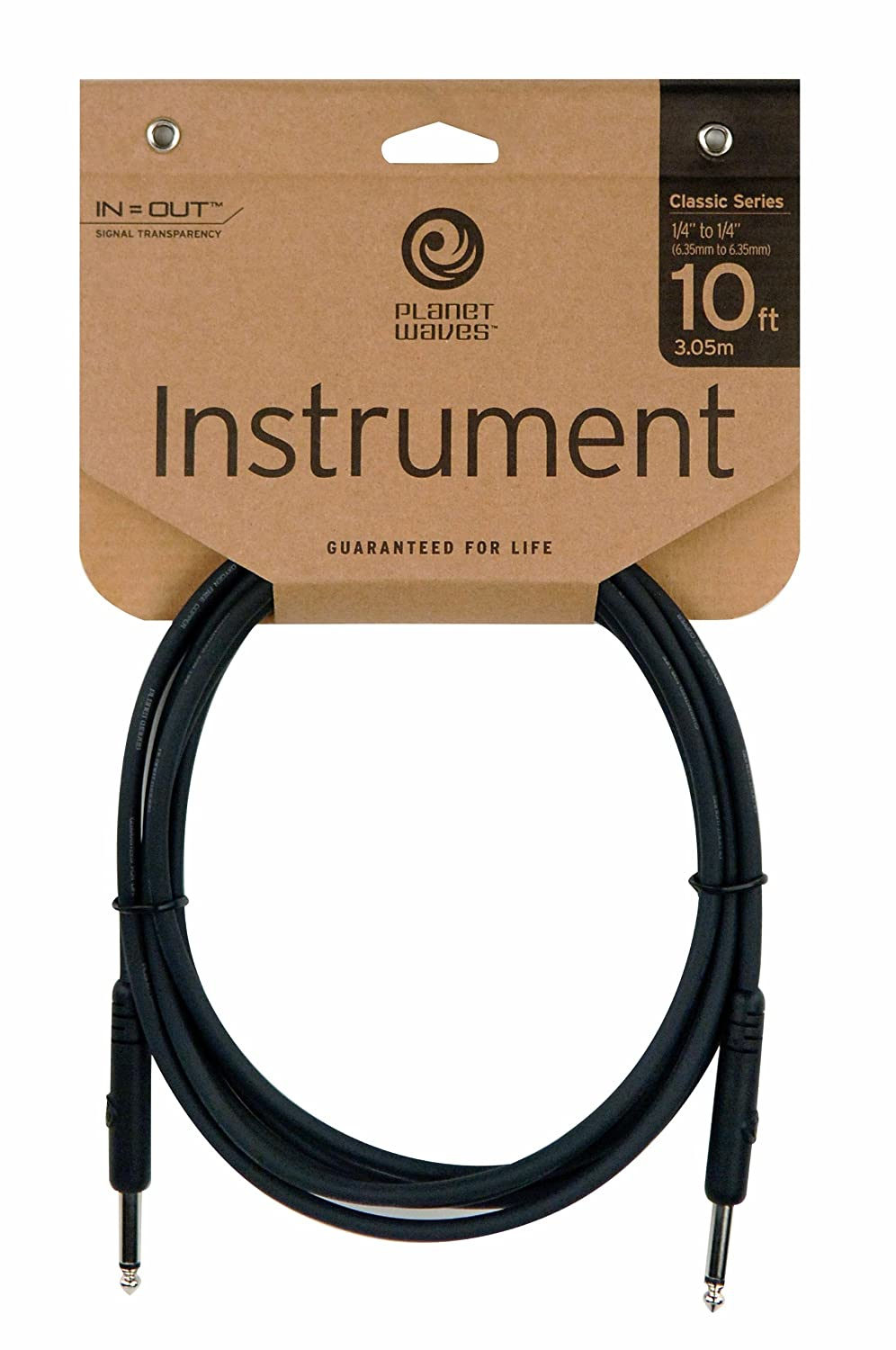 Planet Waves PW-CGTP-305 Classic Series Patchkabel 0,15m (0,5 Fuß ...