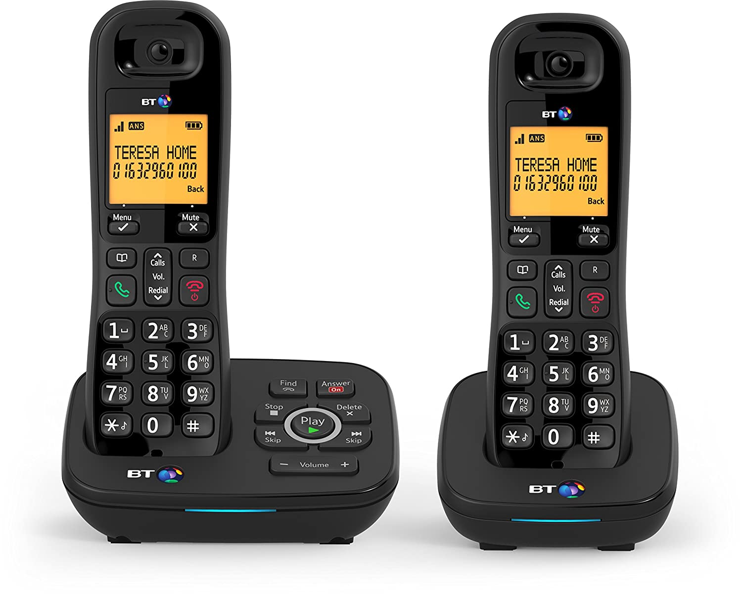 Bt 1700 Nuisance Call Blocker Cordless Home Phone With: Amazon:  Electronics