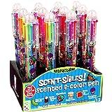 مجموعة أقلام ألوان متعددة من 6 ألوان من ريموند جيديس مع حبر معطر (عبوة من 12 قطعة)
