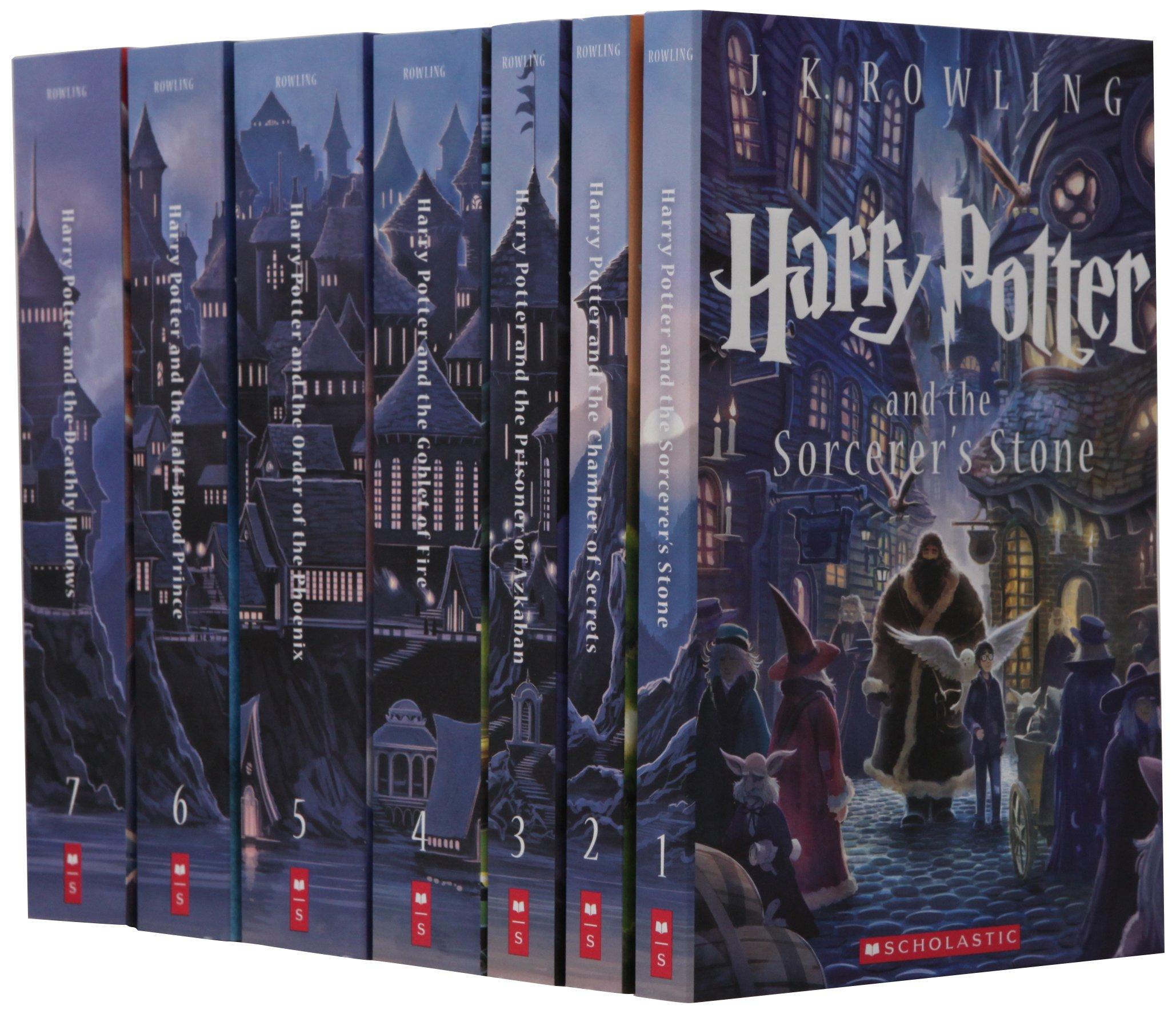 Special Edition Harry Potter Paperback Box Set Parc D