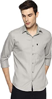LEVIZO 100% Cotton Casual Shirt Full Sleeves for Men