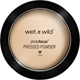 Wet N Wild – Photofocus™ Pressed Powder – Puder mit lichtreflektierenden Pigmenten, Warm Light, 1 Stk. 40g
