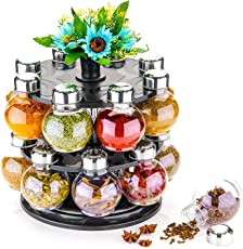 Kkart Spice Rack Set of 16