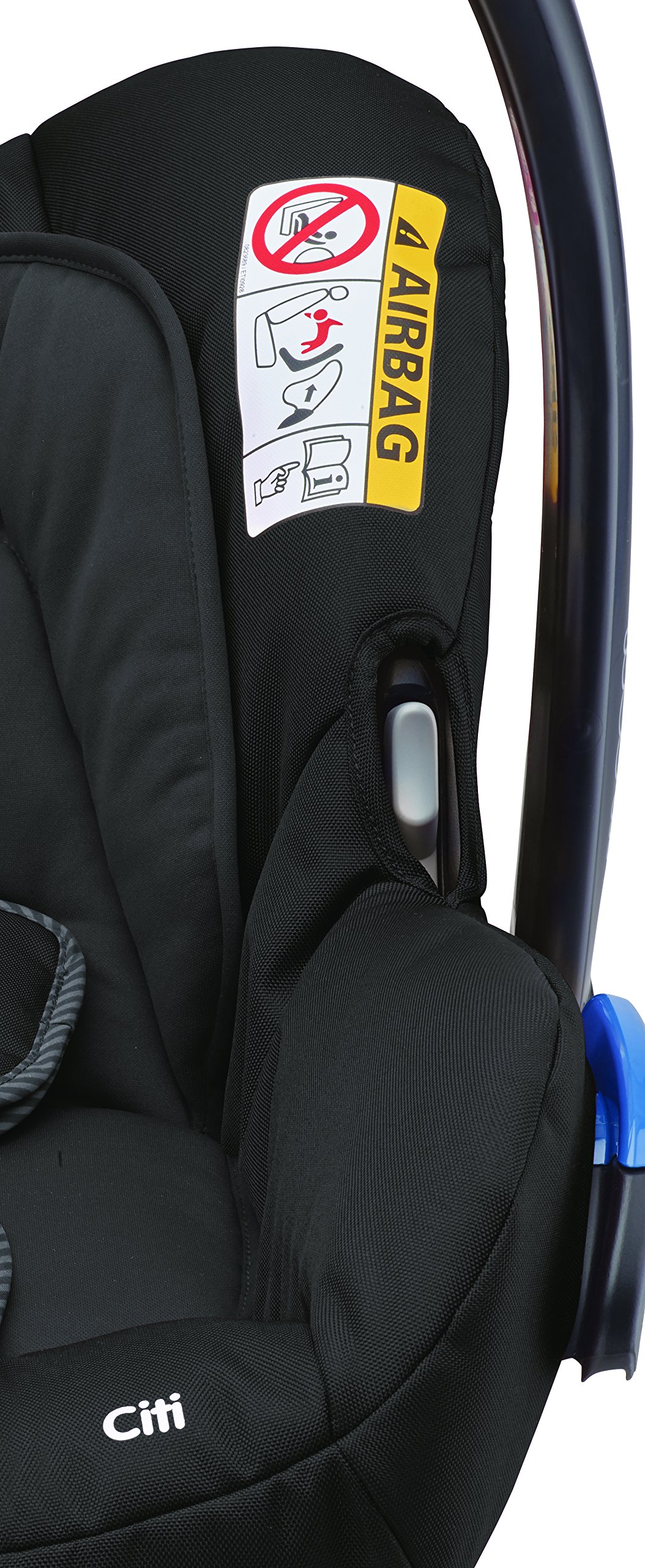 Maxi-Cosi Kinderautositz Citi Black Raven Maxi-Cosi Side protection system, guarantees optimal protection in the event of a side impact Lightweight, light weight and ergonomically shaped safety bar for use as carrying handle Practical travel system 9