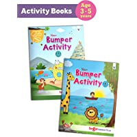 Blossom Bumper Activity Books for Kids in English   3 to 5 Year Old Children   110 Activities like Tracing, Colouring…