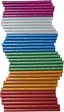 Asian Hobby Crafts Hot Melt Multi Purpose Glitter Glue Stick (36 Pieces)