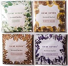 Rose Lover Scented Sachet each of 20 gm - Pack of 4