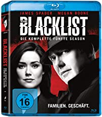 The  Blacklist - Die komplette fünfte Season (6 Discs) [Blu-ray]