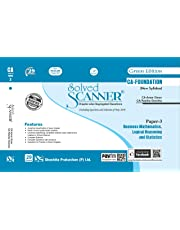 Solved Scanner CA Foundation (New Syllabus) Paper - 3 Business Mathematics, Logica Reasoning and Statistics