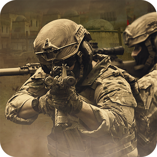 SWAT Forces: Frontline Fury Cover Fire PvP Survival Gun War ww2 headshot Strike action (Spiel Ops Black)