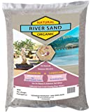 Shehri Kisaan® Natural River Sand - 5kg Grey | Aquarium Sand & Substrate | Pure Organic Plants Soil Mix Additive | Use…