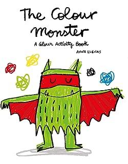 The Colour Monster Pop Up Amazon Co Uk Anna Llenas 0783324809602 Books