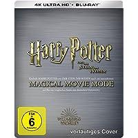 Harry Potter und der Stein der Weisen - Jubiläums-Edition mit Magical Movie Mode Limited Steelbook (4K UHD + BD) [Blu…
