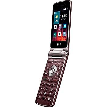 LG WineSmart klappbares Smartphone 3,2 Zoll rot: Amazon.de