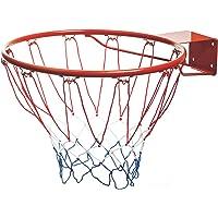 Mondo Toys - Cerchio da Basket/Pallacanestro per Bambini e adulti - Cerchio da Basket da esterno con anello in metallo…