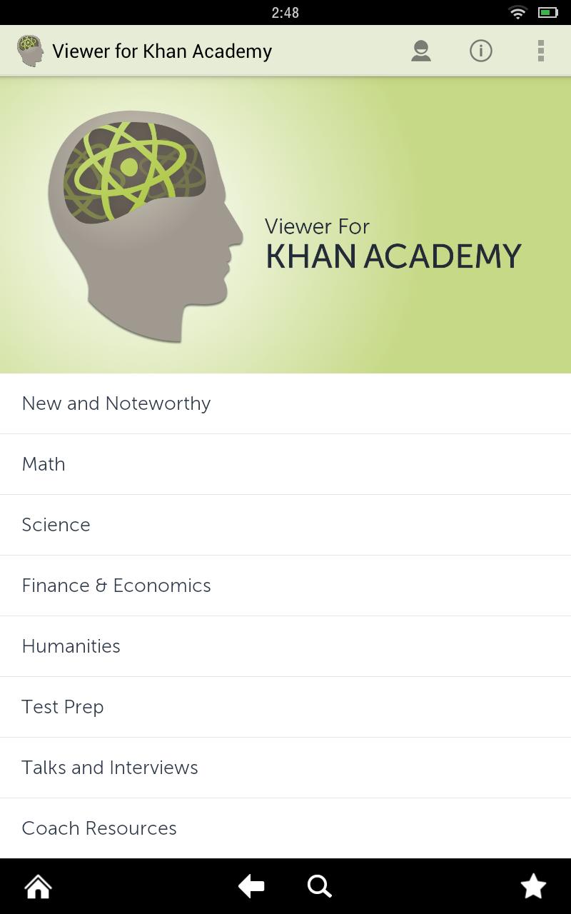 how to change language on khan academy app