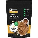 Ketofy - Keto Murukku (250g) | Ultra Low Carb Snack | Keto Snacks