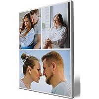 wandmotiv24 Fotocollage, 3 Fotos auf Leinwand, Hochformat 30x40cm (BxH), Leinwandbilder, Bilder Collagen, Fotowand…