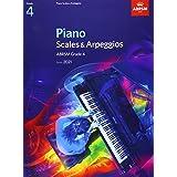 Piano Scales & Arpeggios, ABRSM Grade 4: from 2021