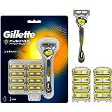 Gillette Fusion 5 ProShield Rasoio Uomo + 9 Lamette di Ricambio Con Tecnologia FlexBall