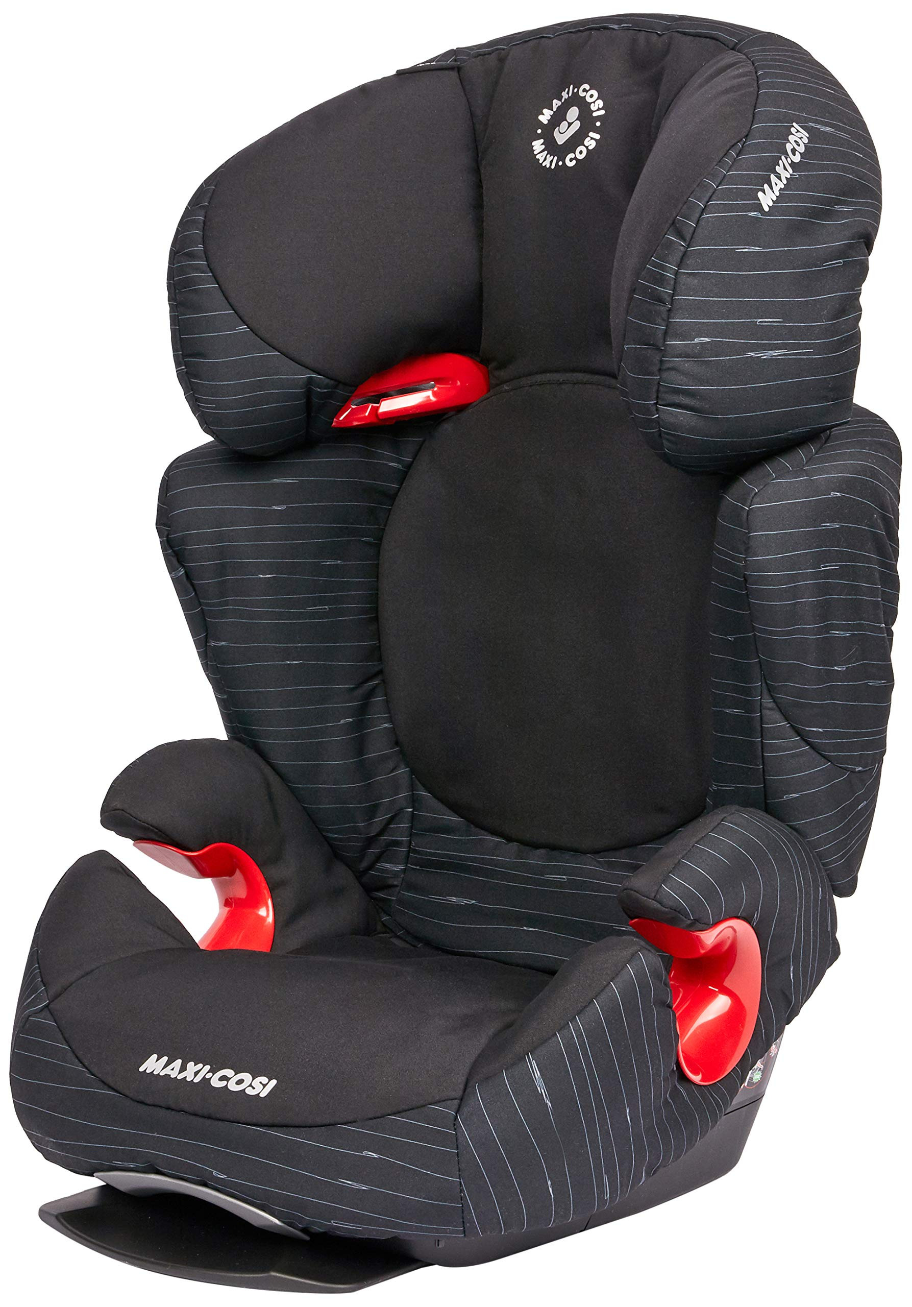 Maxi-Cosi Rodi AirProtect Child Car Seat, Lightweight Highback Booster, 3.5-12 Years, 15-36 kg, Scribble Black Maxi-Cosi Child car seat, suitable from 3.5 to 12 years (15 - 36kg) Easily install this safe car seat with a 3-point seat belt and attach the anchorage point in the head rest through your cars head rest Patented air protect technology in headrest reduces the risk of head and neck injuries up to 20 percent 1