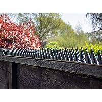 Prikka Eco Fence Wall Spikes Garden Security Anti climb cat/intruder deterrent(12m, Black)
