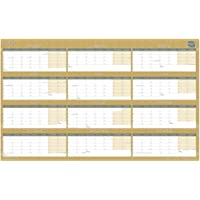 Boxclever Press 2021 Wall Planner (Block Layout). Stunning Year Planner 2021 Runs Jan - Dec'21. Professional, Family Planner, Study Planner. Non Laminated with Main UK Holidays. Size: 70 x 43cm