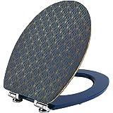 Wirquin 20722720 Trendy Line Diplomat Abattant, Art Deco Blue