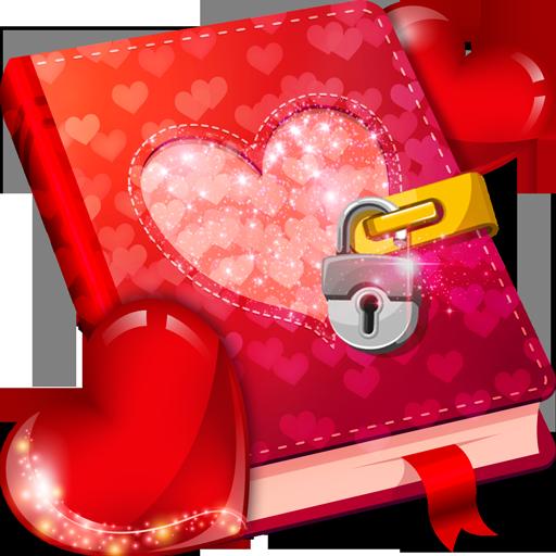 Liebes-Tagebuch mit Schlüssel