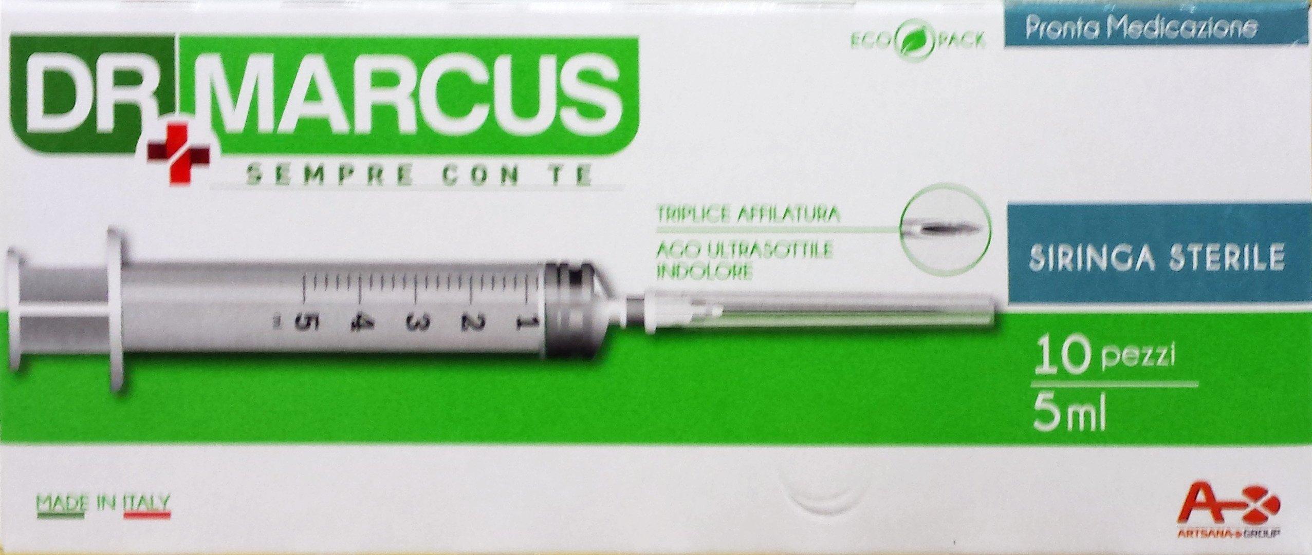5 x DR.MARCUS Siringhe Ago Ultrasottile 10 Pezzi