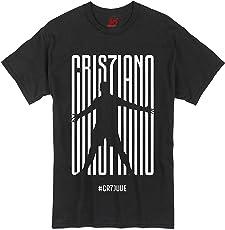 36FAHRENHEIT Unisex Cotton Cristiano Ronaldo CR7 Juve Juventus T-Shirt