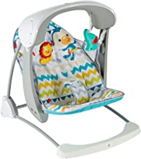 Fisher Price Colourful Carnival Take Along Swing and Seat, Multi Color