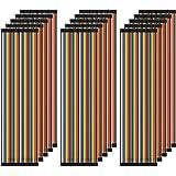 AZDelivery 5 x Jumper Wire Cables de Puente 20 cm Set de 120 pcs. cada uno Macho-Hembra/Macho-Macho/Hembra-Hembra compatible