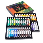 MEEDEN Acrylic Paint Set of 48 Vibrant Colors in Tubes , Non Toxic Rich Pigments Colors Great for Artist Kids Adults...