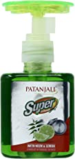 Patanjali Super Dishwash Gel - 200 ml (Neem and Lemon)
