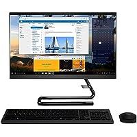 """Lenovo ideacentre All in One A340, Display 21,5"""" Full HD, Processore Intel Core i3-8145U, 1TB HDD, RAM 4GB, Lettore DVD±RW,Windows 10, Tastiera e Mouse USB, Black"""