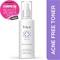 Kaya Clinic Acne Free Purifying Toner, Alcohol free Toner for acne prone & oily skin, 100 ml