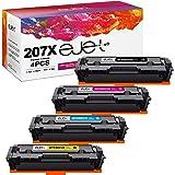 ejet W2210X 207X kompatibel tonerkassett med hög kapacitet ersättning för HP 207A 207X W2211X W2212X W2213X för Pro MFP M283f