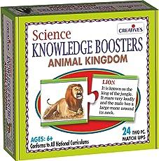 Creative's Science Knowledge Boosters, Animal Kingdom, Multi Color