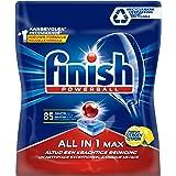 Finish All in 1 Max Citroen Vaatwastabletten - 85 Stuks - Voor Prachtig Schone en Glanzende Vaat