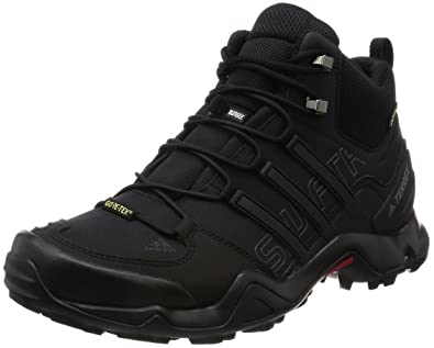 new products 92de7 a3f9d adidas Terrex Swift R MID GTX, Scarpe da Trail Running Uomo, Nero (Core