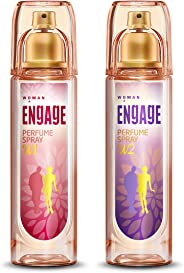 Engage W1 Perfume Spray For Women, 120ml and Engage W2 Perfume Spray For Women, 120ml