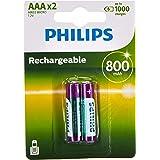 PHILIPS R03B2A80/10 - Multi Life NiMH batterij AAA Micro 800 mAh 2-pack