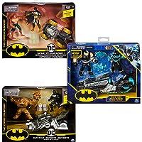 BATMAN - PACK VÉHICULE + 2 FIGURINES 10 CM - DC COMICS - Véhicule et figurines jouet Batman 10 cm - 6055934 - Modèles…