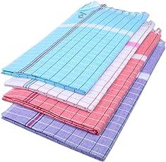 Sathiyas Sunrise Cotton Bath Towel (Pack of 4, Multicolour)