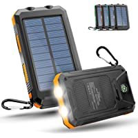 HTM® solar powerbank - powerbank solar schlagfest und Wasserdicht - Die solar powerbank Outdoor mit Fast unendlicher…
