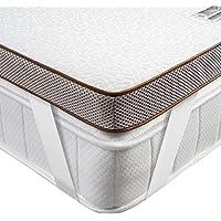 BedStory [Nouvelle Technologie] Surmatelas 90 x 190 à Mémoire de Forme de 7.5cm, Surmatelas avec Gel Plus Respirant…